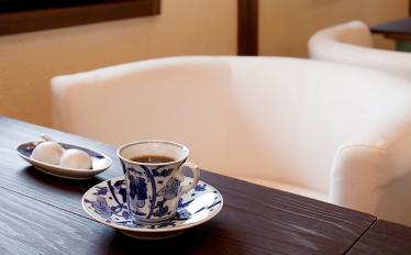 和カフェの風景